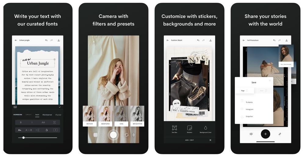 apps for Instagram Stories