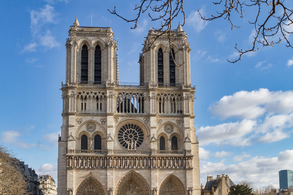 Places To Visit In Paris-Cathédrale Notre-Dame de Paris