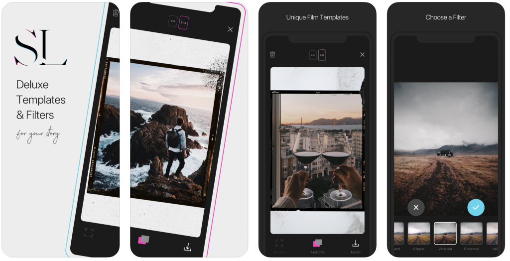 Story luxe; Photo Editing Apps
